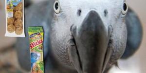 λιχουδιες για παπαγαλους