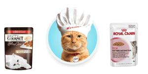 Τροφη γατας φακελακι